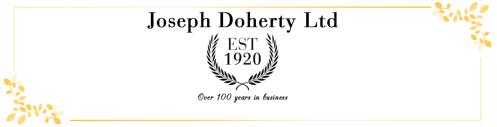 100 Years in Business
